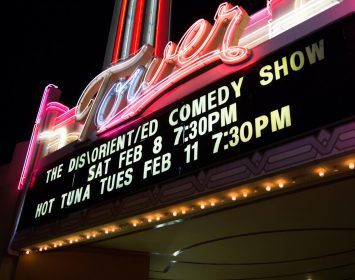 disoriented comedy show banner